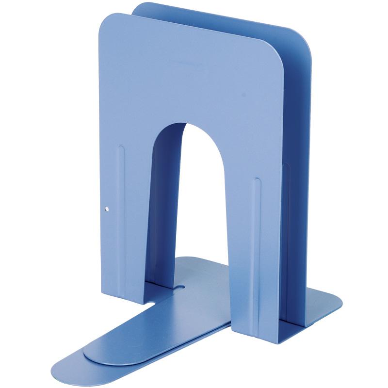 齐心 A1100 铁书立 大号 9寸 2片/付 蓝色
