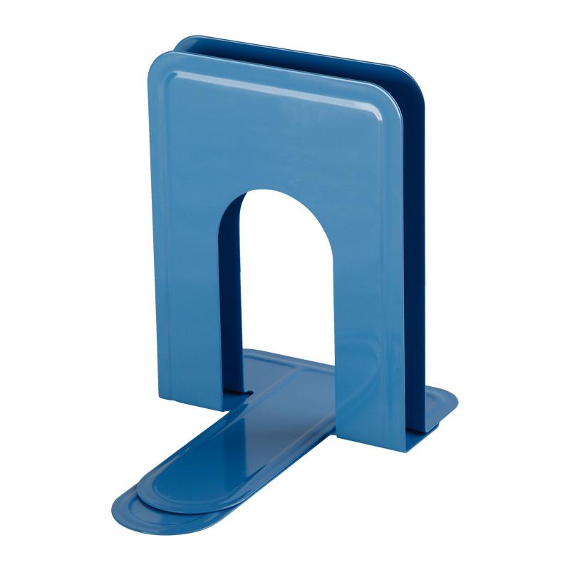 齐心 A1105 铁书立 小号6寸 蓝