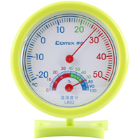 齐心 L802 轻巧型指针式温湿度计
