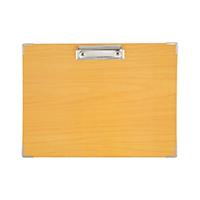 齐心外销 日本CAINZ MCBA4EN 木纹 板夹