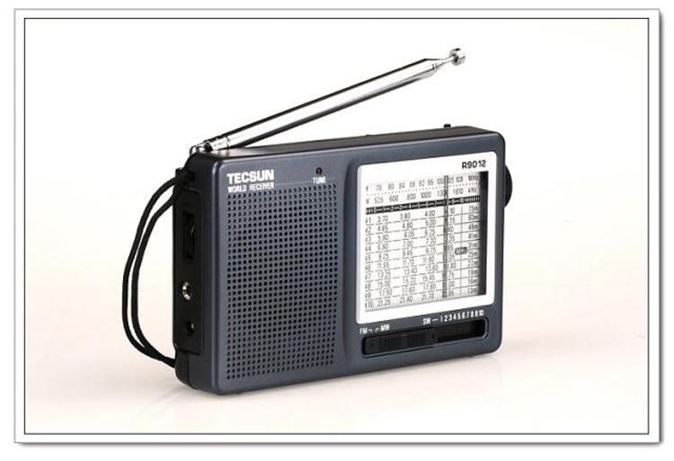 德生(tecsun)收音机r-9012 黑