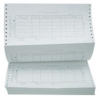 立信 TR201 總分類賬 針打憑證電腦套打賬冊 配(2000份/箱)(單位:箱)