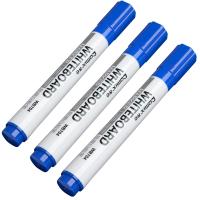齐心 WB704 单头易擦白板笔2.0mm 蓝色