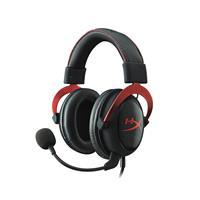 金士顿 HX-HSCP-RD Cloud II 飓风耳机 红黑版