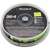 索尼 SONY DVD+R (10P) 刻录盘 单位:桶