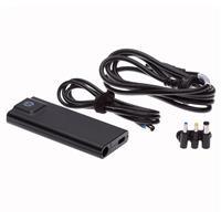 惠普 H6Y83AA 90瓦 超薄电源适配器(含USB接口充电) 黑色 单位:个