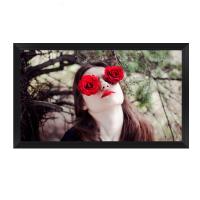 红叶(Redleaf)100寸16:9画框幕3D荧光白软幕 高清显示家用幕布 植绒边框