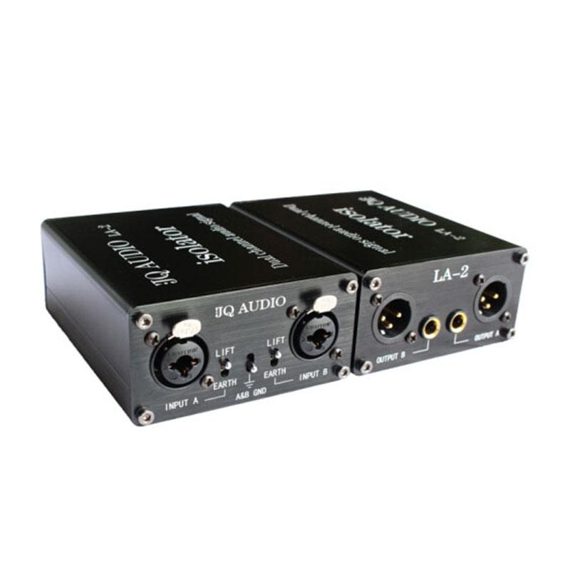 jq audio la-2 音频隔离器 黑色 单位:台