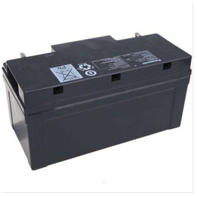 松下 12V65AH UPS电源专用免维护蓄电池 黑色 单位 个