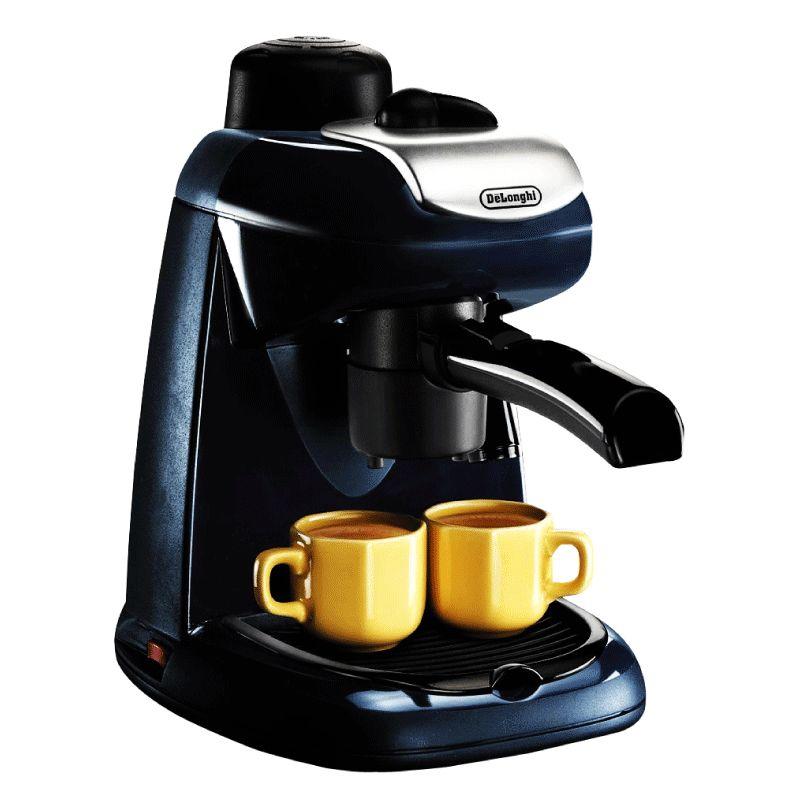 意大利德龙 EC7 蒸汽式咖啡机 1升 蓝色