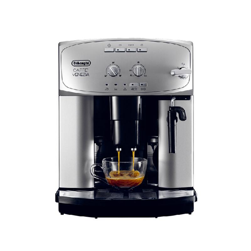 意大利德龙 ESAM2200.S 家用意式全自动进口咖啡机银色