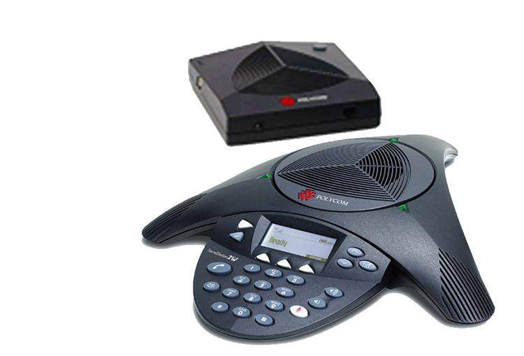 宝利通 音频会议系统电话机 soundstation 2w 扩展型