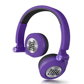 头戴式耳机 紫色