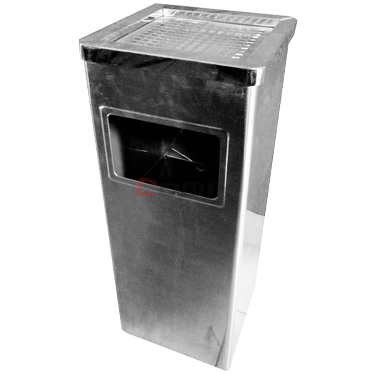 不锈钢垃圾桶 方形(长26*宽26*高61cm)