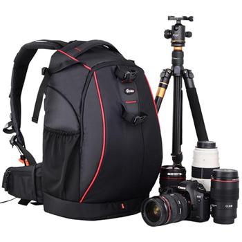 锐玛 EMB-D2330升级版 专业大容量双肩摄影包 黑