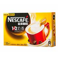 雀巢 咖啡1+2奶香30条450克