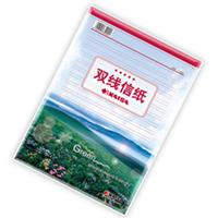凯萨 T-16401 精装双线信纸 16K 40页 白