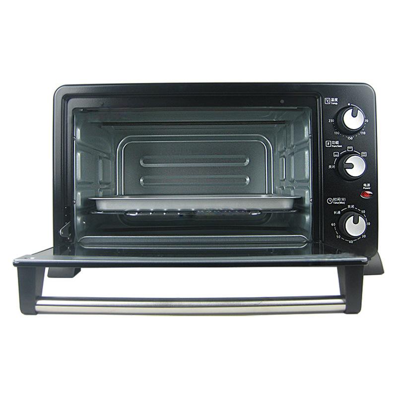 美的 T3-252C 烤箱 黑色