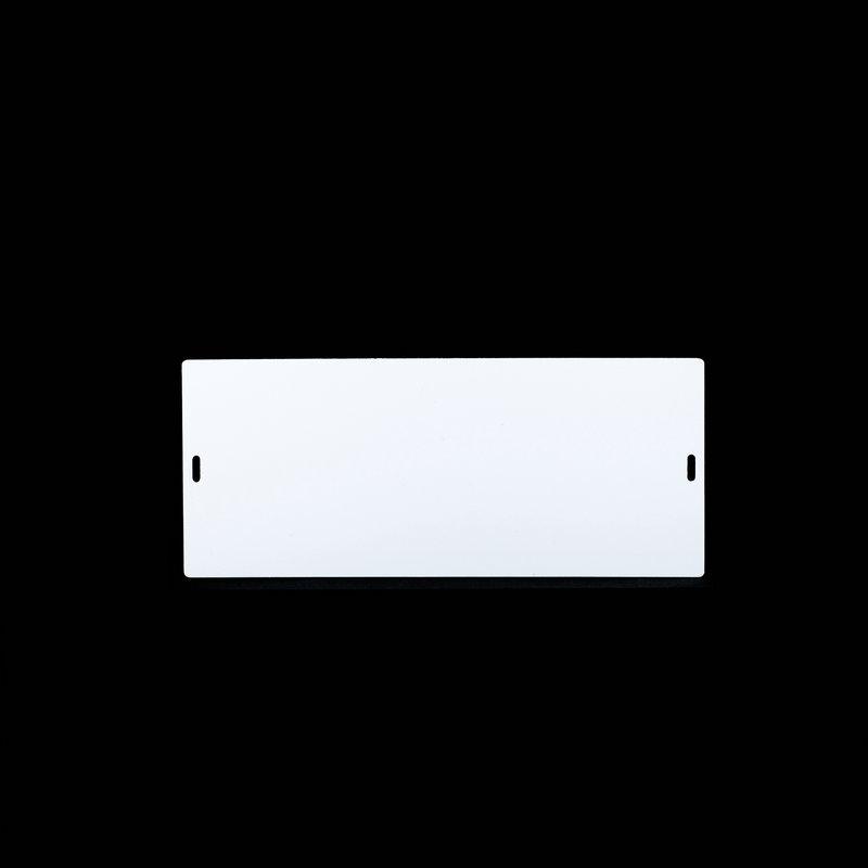 桥兴 M-G80180 双孔120mm*80mm 50片/包 电缆挂牌 白色 适用于m-300 C-450P c-330p c-460p