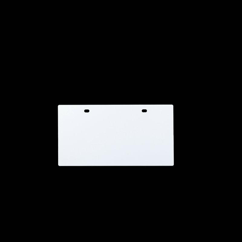 桥兴 M-G80120 四孔120mm*80mm 50片/包 电缆挂牌 白色 适用于m-300 C-450P c-330p c-460p