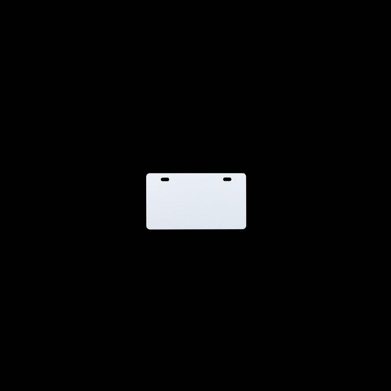 桥兴 M-G5486 双孔86mm*54mm.500片/包 铝合金标牌 电缆挂牌 白色 适用于m-300 C-450P c-330p c-460p
