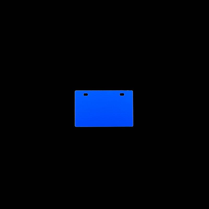 桥兴 M-G5486 双孔86mm*54mm.500片/包 电缆挂牌 蓝色 适用于m-300 C-450P c-330p c-460p
