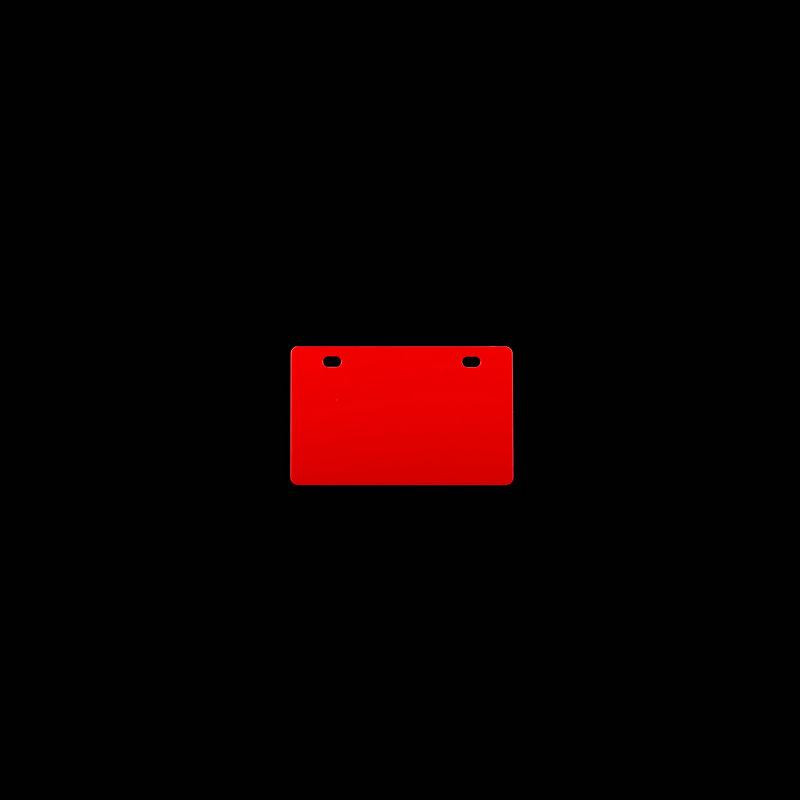 桥兴 M-G5486 双孔86mm*54mm.500片/包 电缆挂牌 红色 适用于m-300 C-450P c-330p c-460p