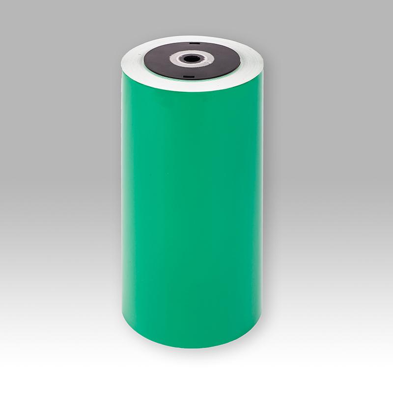 桥兴 QX-GR220 20m*220mm标签纸 绿色 适用于D320 TSC-384MT B-852