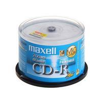 麦克赛尔 CD-R(50P) 可打印 刻录盘