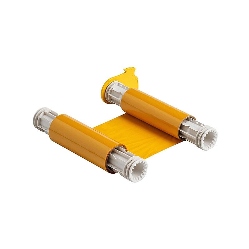 贝迪 13518(5A518) 8.8寸60.96米 色带 黄色(单位:盒)