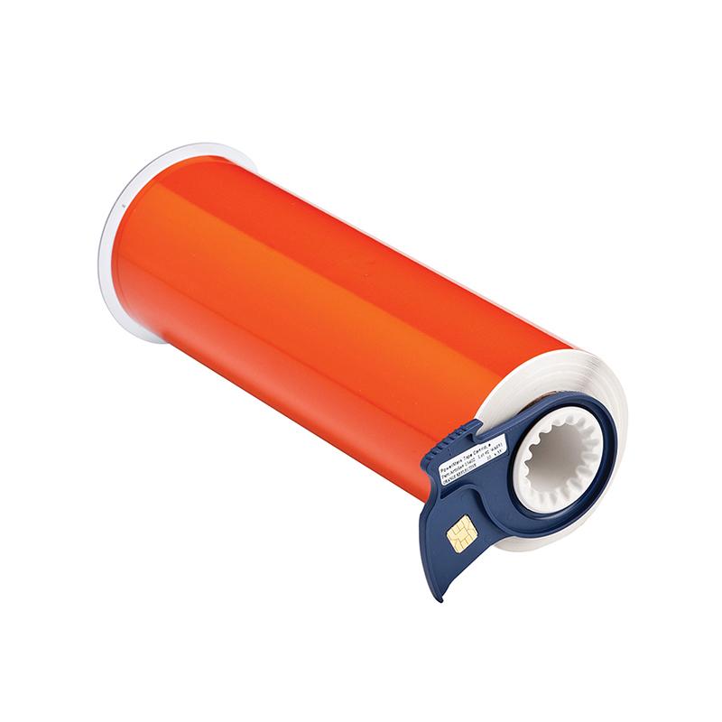 贝迪 13402 10寸*33尺 反光打印胶带 橙色(单位:卷)