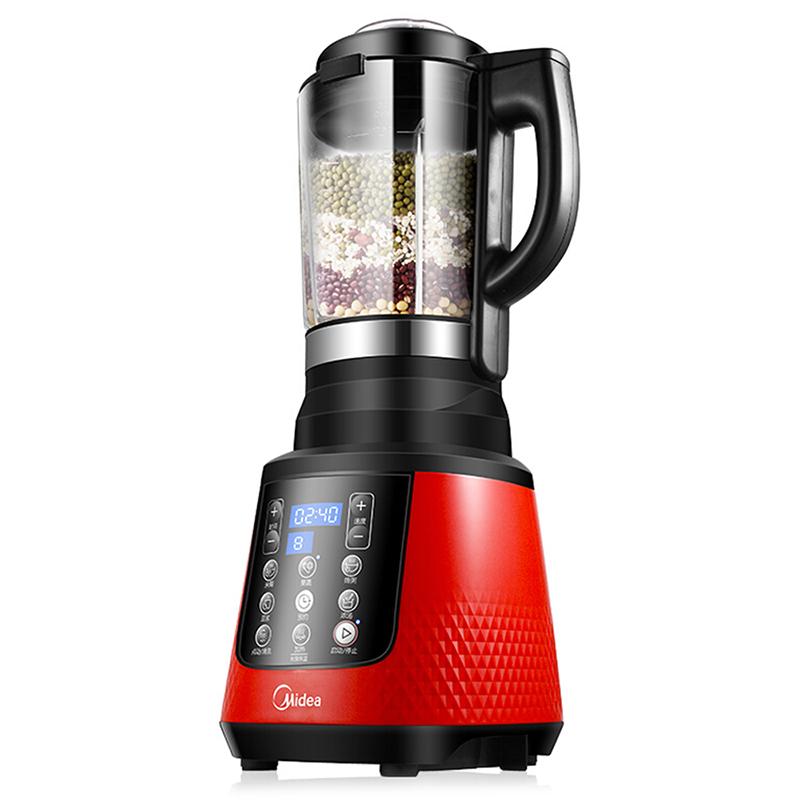 美的 WBL8005P 加热破壁料理机 红色(单位:台)
