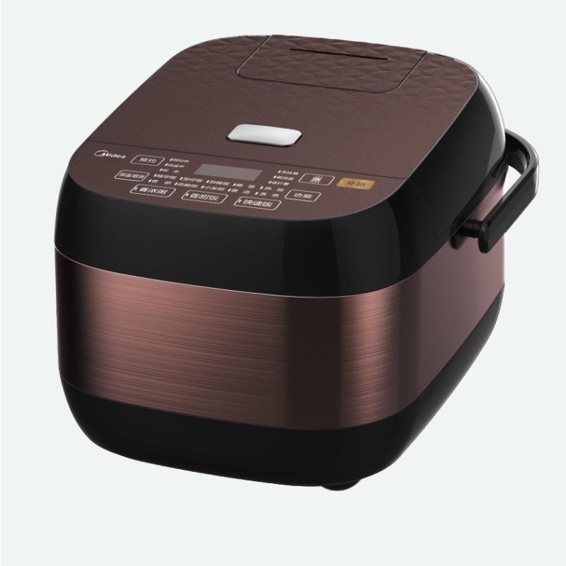 美的 RS4083 4L智能电饭煲锅电饭煲 咖色