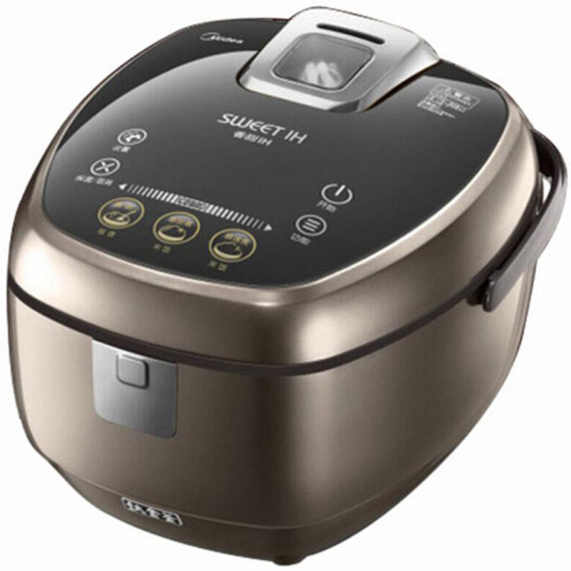 美的 FZ4085A/IH 高端IH4L升智能多功能饭煲  咖啡色