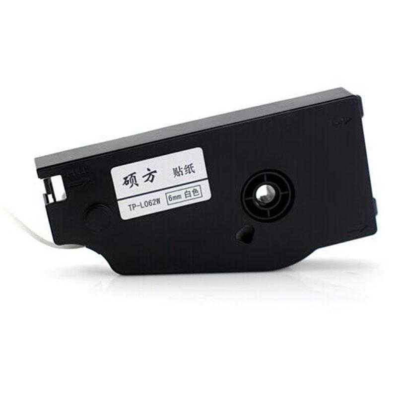 硕方 TP-L12W 长度:16m 线号机不干胶标签贴纸 白色(单位:卷)