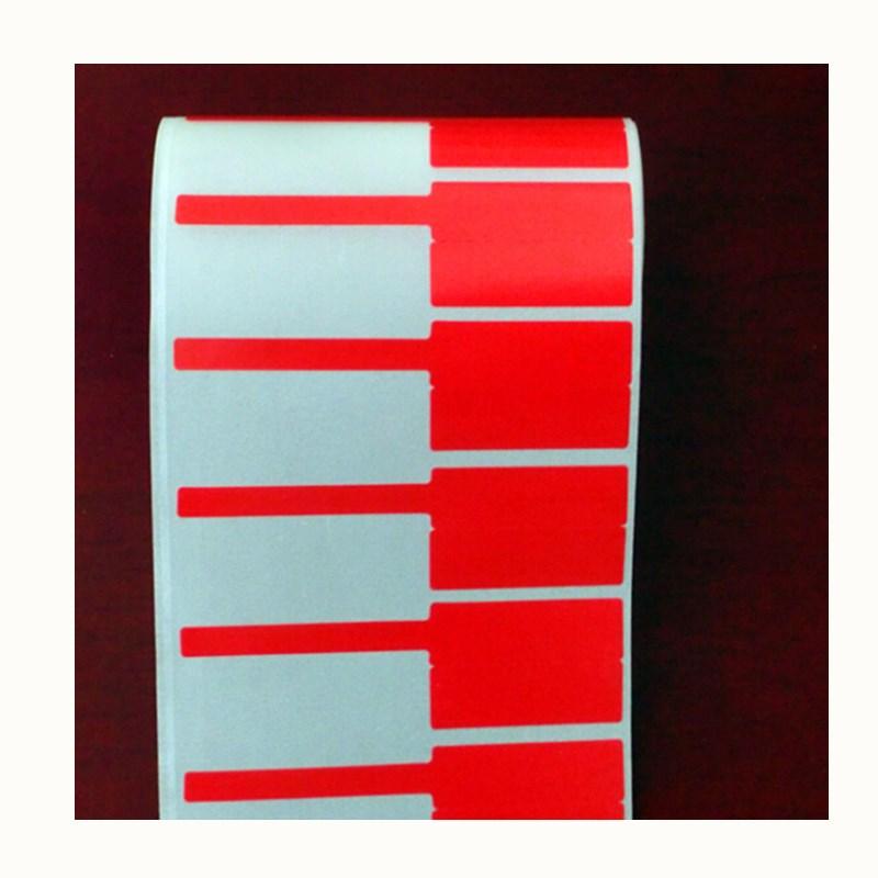 桥兴 QX-40-P-R 40mm*32mm+40mm/150片/卷 线缆标签 红色 (单位:卷)