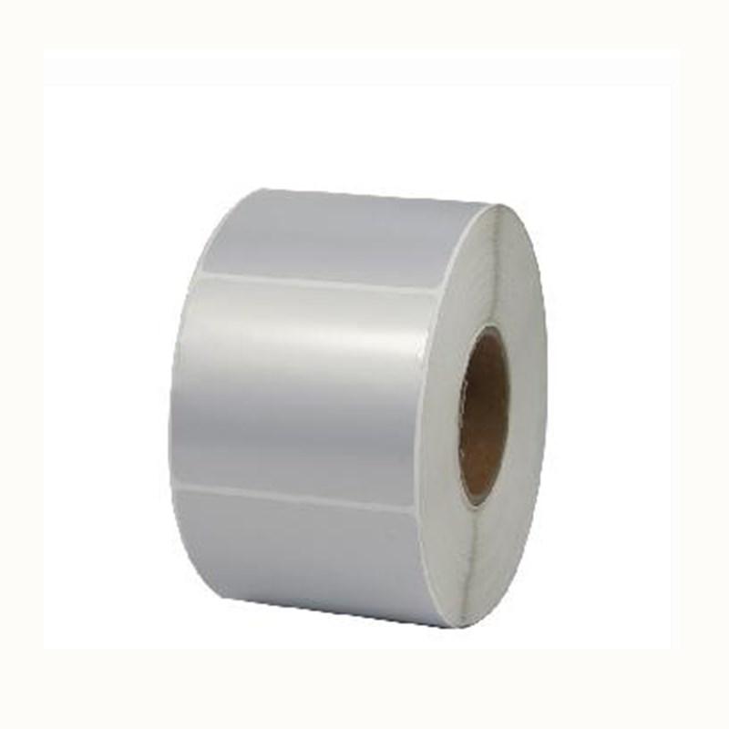 桥兴 QX-6040 60mm*40mm/500片/卷 标签打印纸 亚银色 (单位:卷)