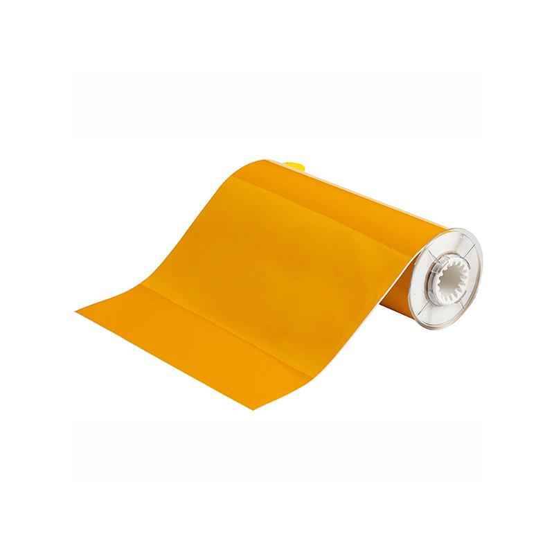 贝迪 B85-250X10-584-YL/B584 10quot;x33#039; 反光打印胶带 黄色 适用机型:BBP85(单位:卷)
