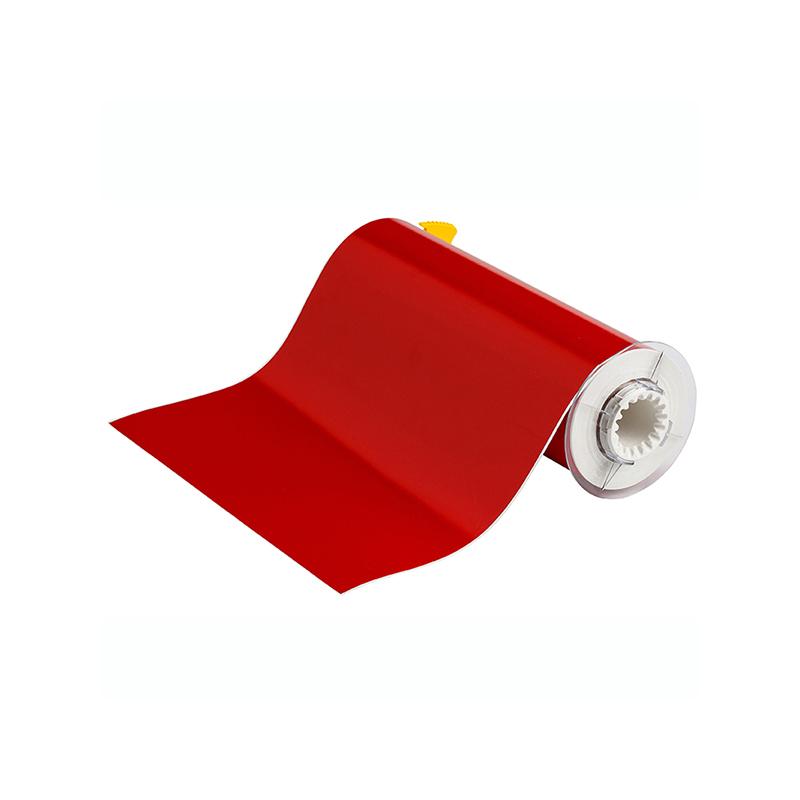 贝迪 B85-250X15-595-RD/B595 10quot;x50#039; 打印胶带 红色 适用机型:BBP85(单位:卷)