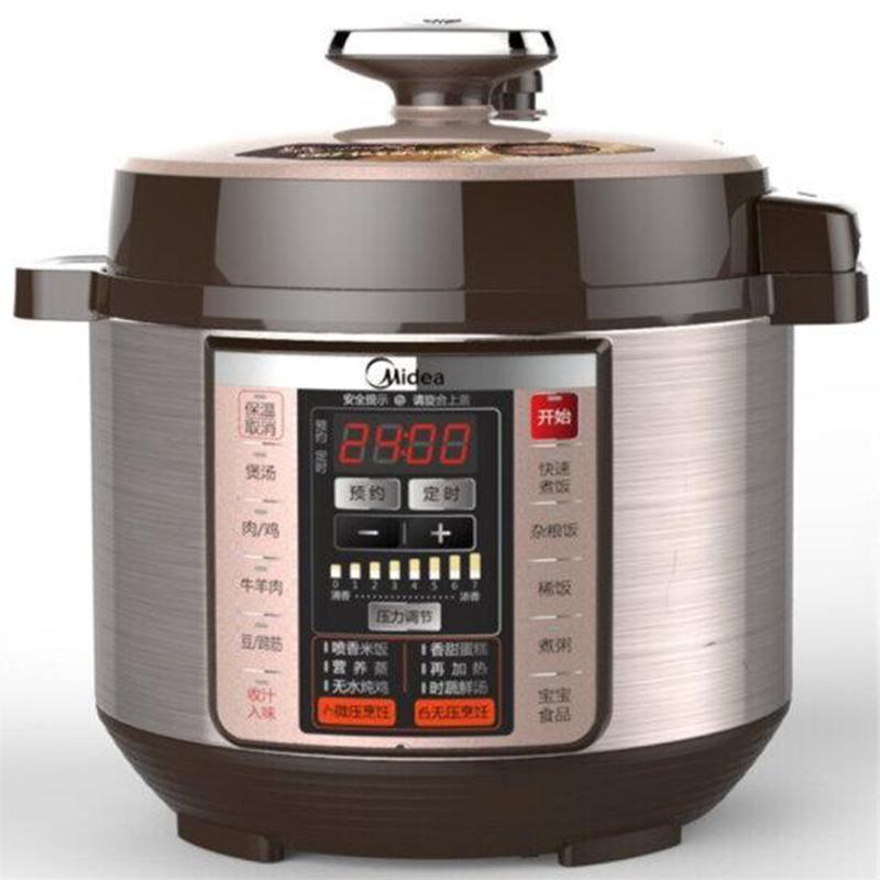 美的 PCS5036P 5L双胆电压力锅 棕色  (单位:台)