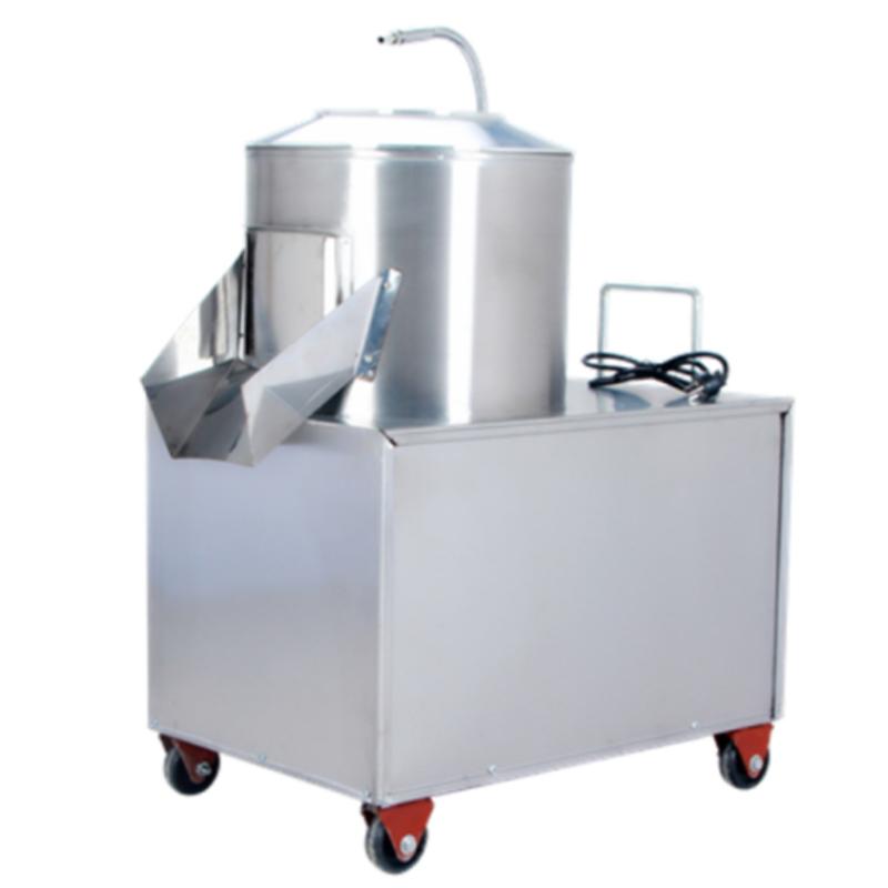 德玛仕 YQ-350 全自动土豆脱皮机 不锈钢色 (单位:台)