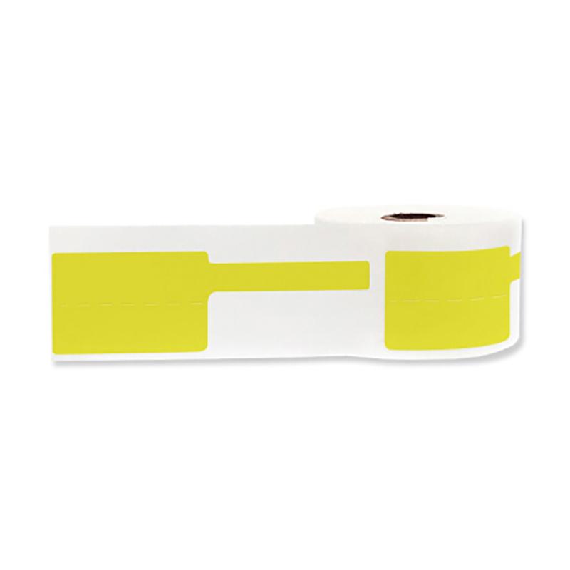 幻方 HP201-04PY 40MM*32MM+40MM/200片/卷 线缆标签 黄色 (单位:卷)