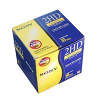 索尼 MF-2HD 3.5寸1.44M 软盘 10片装