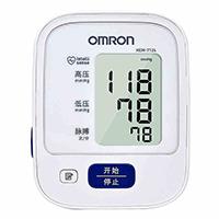 欧姆龙 HEM-7124 电子血压计 上臂式家用 白色