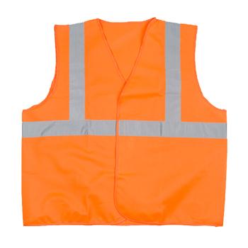 代尔塔 GILP4反光背心 404402 L码 荧光橙色 GILP4 单位:件