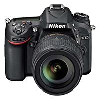 尼康 D7100 单反套机(AF-S DX 18-105mm f/3.5-5.6G ED VR 防抖镜头) 黑色