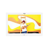 爱国者(aigo) DPF101 4GB内存数码相框 10.1英寸 白色